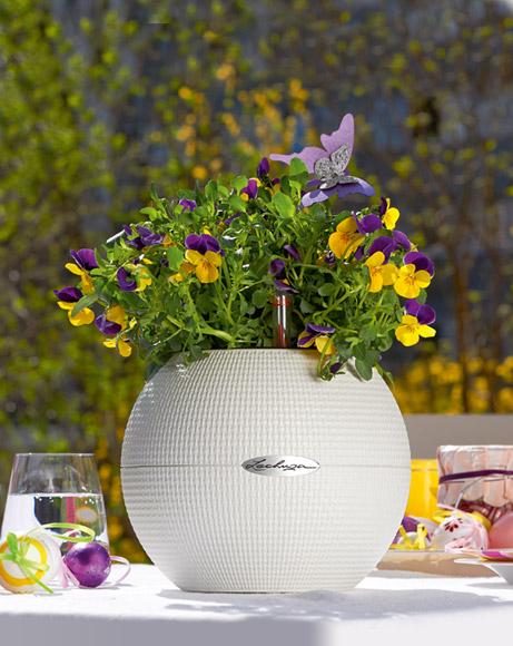 LECHUZA-PURO Color 20 white with violets