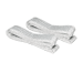 "31.5"" Belt Straps white for BALCONERA (2 pieces)"