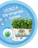 The LECHUZA sub-irrigation-system